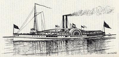 Steamboat Mississippi