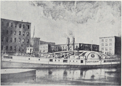 Steamer Lady Elgin