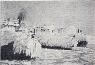Walebacks in winter quarters at West Superior