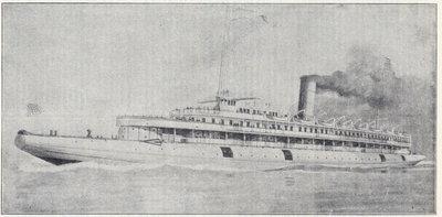 Whaleback passenger steamer Christopher Columbus