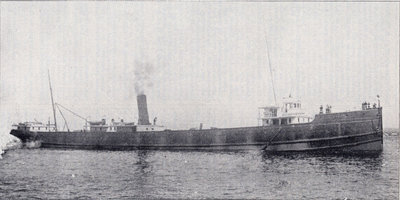 Steel steamer S. S. Curry