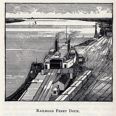 Railroad Ferry Dock