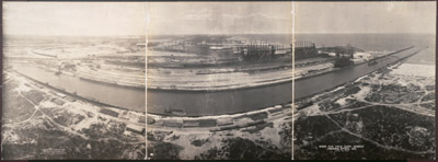 Birds eye view, Gary Works, Indiana Steel Co., April 18, 1908