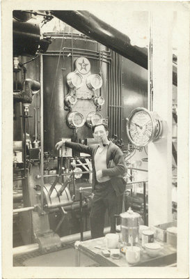 Engine Room of the S. B. WAY