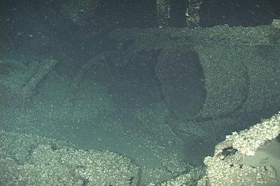 Smokestack of the OCEAN WAVE
