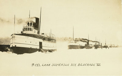 Lake Superior Ice Blockade