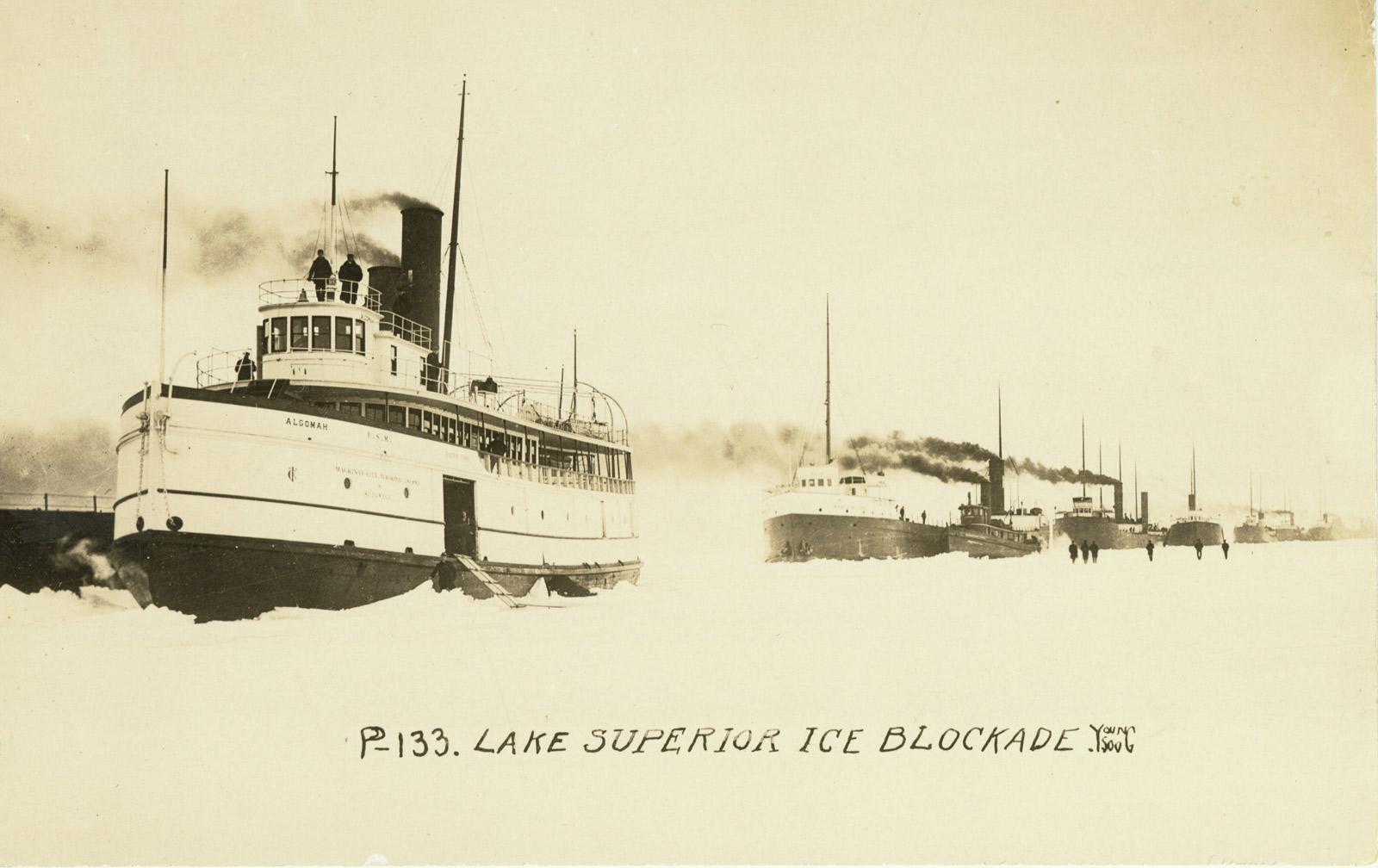 Lake Superior Ice Blockade