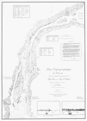 Plan Topographique du Détroit et des Eaux qui forment la jonction du Lac Erié avec le lac St. Clair