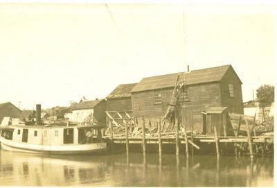 Fishtug Racey at Port Dover - 1925