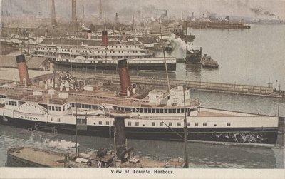 View of Toronto Harbour