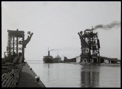 Ohio. Sandusky. Coal Docks. (July 1929)