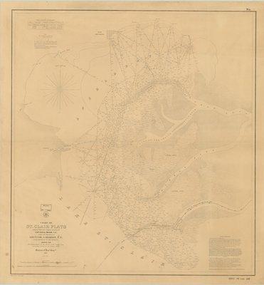 St. Clair Flats, 1857