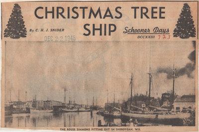 Christmas Tree Ship: Schooner Days No. DCCXXIII