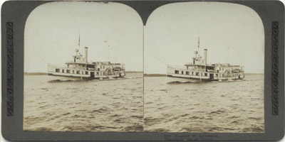 Steamer ST. LAWRENCE. Thousand Islands Series