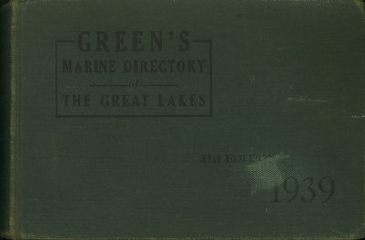 Green's Directory, 1939