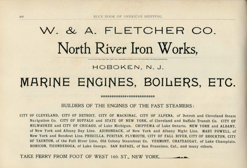 1897 Blue Book of American Shipping