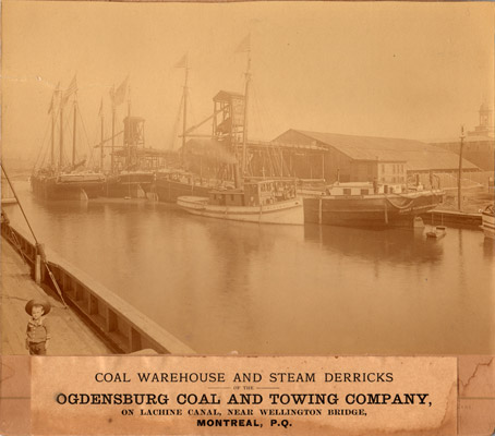 Ogdensburg Coal and Towing Company, Lachine Canal