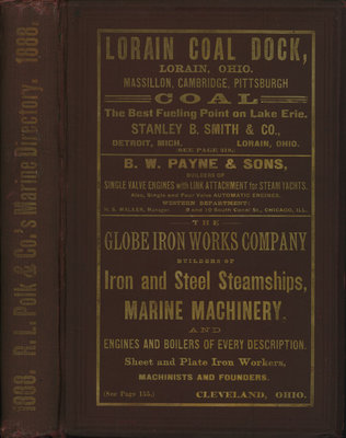 R. L. Polk & Co.'s Marine Directory of the Great Lakes... 1888