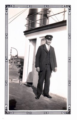 Captain Raoul Lalonde on the Britannic