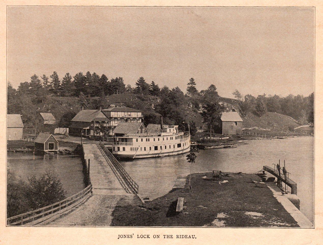 Jones' Lock on the Rideau
