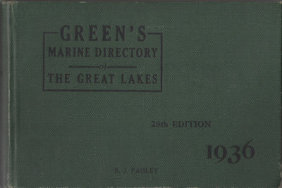 Green's Directory, 1936