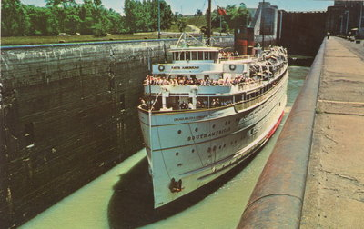South American in Welland Canal
