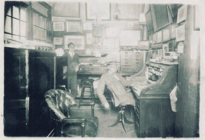 Office of John S. Parsons ship chandlery, Oswego
