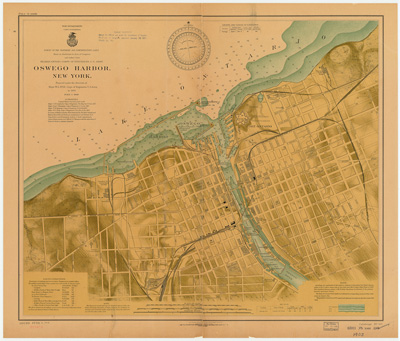 Oswego Harbor, New York, 1903