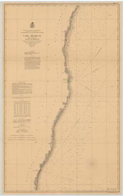 Lake Michigan Coast Chart No. 2: Vicinity of Sheboygan, 1877