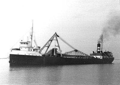 FONTANA in Oswego harbor