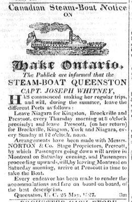 Steam-Boat Queenston