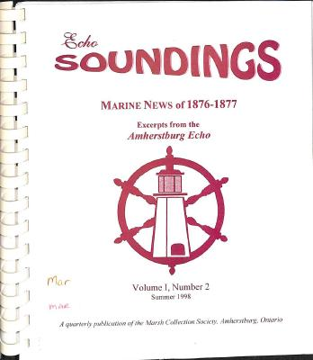 Echo Soundings: Marine News of 1876-1877