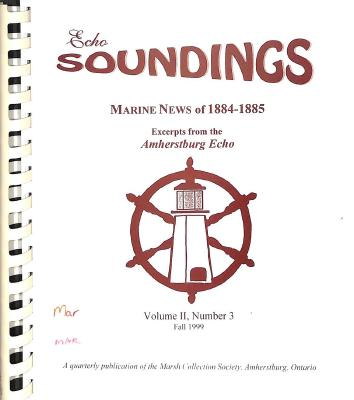 Echo Soundings: Marine News of 1884-1885