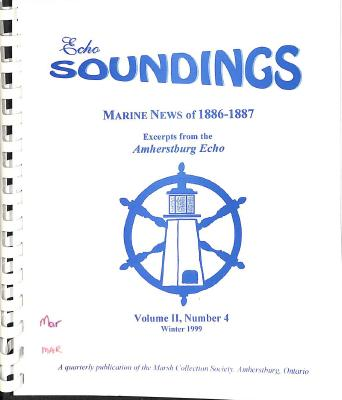 Echo Soundings: Marine News of 1886-1887