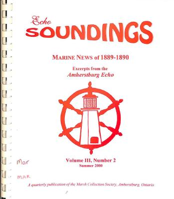 Echo Soundings: Marine News of 1889-1890