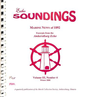 Echo Soundings: Marine News of 1892