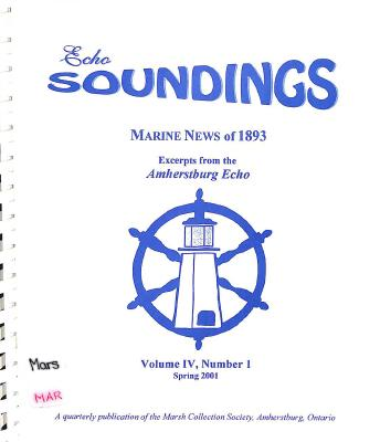 Echo Soundings: Marine News of 1893
