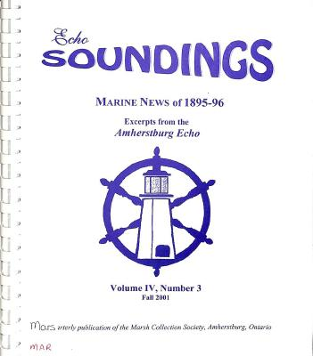 Echo Soundings: Marine News of 1895-96