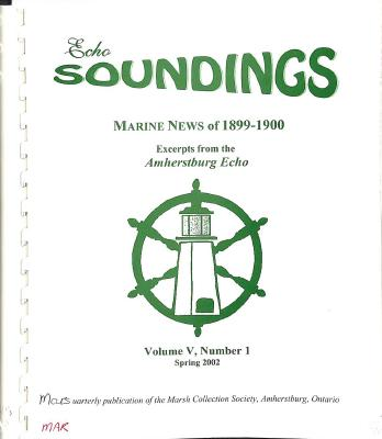 Echo Soundings: Marine News of 1899-1900