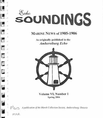 Echo Soundings:  Marine News of 1905-1906