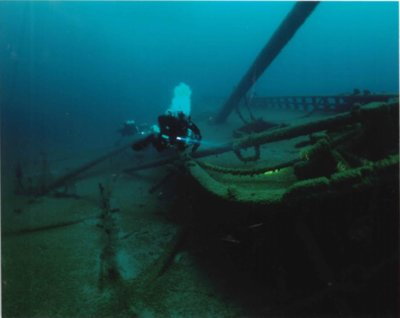 GALLINIPPER shipwreck (schooner): National Register of Historic Places