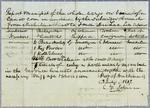 Jolineau, Manifest, 3 July 1817