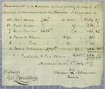 Polineau, Manifest, 3 July 1817