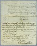 Abbott, Manifest, 6 July 1817