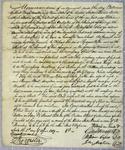 A. J. Dallas, Contract, 1 April 1819