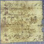 Pothier, Invoice, 16 June 1819