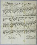 Solomon, bond, 1 March 1821
