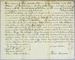 Mitchell, bond, 1 August 1821