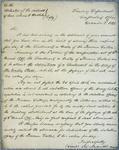 Treasury Department, Letter, 3 December 1821