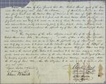Stuart, bond, 15 June 1822